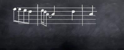 Música a minhas orelhas Fotografia de Stock