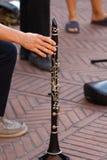 Música na rua Foto de Stock