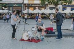 Música na rua Imagens de Stock