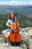 Música nas montanhas Fotografia de Stock