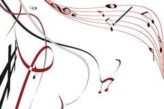 Música no ar Foto de Stock Royalty Free