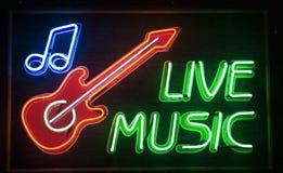 Música a o vivo Fotografia de Stock