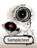 Música para arriba Imagenes de archivo