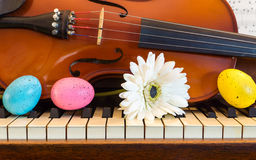Música para Easter Foto de Stock Royalty Free