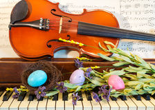 Música para la primavera Fotos de archivo libres de regalías