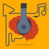 Música para o abrandamento Imagem de Stock
