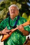 Música polinésia de Tahitian da ilha do Pacífico Imagens de Stock