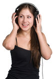 Música que escuta Fotografia de Stock