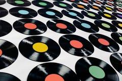 Música - registros de vinil Imagem de Stock