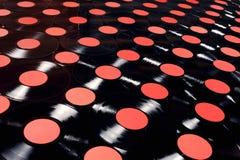 Música - registros de vinil Foto de Stock