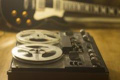 Música retra Fotografía de archivo libre de regalías
