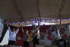 MÚSICA ROCK INDONESIA Imagen de archivo libre de regalías