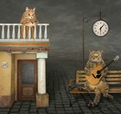 Música romântica para amado fotos de stock royalty free