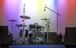 A música rufa o instrumento Fotografia de Stock
