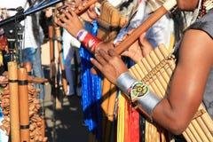 Música suramericana nativa Imagen de archivo