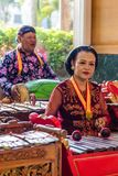 Música tradicional Indonesia Fotografía de archivo libre de regalías