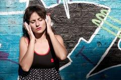 Música urbana Foto de Stock Royalty Free