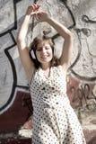 Música urbana retro Fotografia de Stock Royalty Free