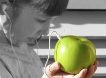 Música verde Imagem de Stock Royalty Free
