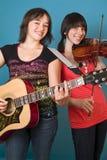 Música y diversión Foto de archivo libre de regalías