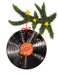 Músicas do Xmas Imagens de Stock Royalty Free