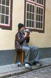 Músico Fotografía de archivo libre de regalías