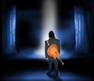 Músico Imagen de archivo libre de regalías
