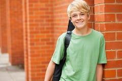 Músico adolescente Foto de archivo libre de regalías
