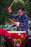 Músico chinês foto de stock