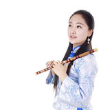 Músico chino imagen de archivo