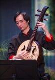 Músico chino Fotos de archivo libres de regalías