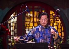 Músico chino Fotografía de archivo
