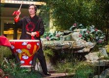 Músico chino Foto de archivo