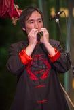 Músico chino Foto de archivo libre de regalías