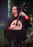 Músico chino Fotografía de archivo libre de regalías