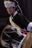 Músico coreano jogador do janggo Fotos de Stock