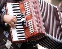 Músico da rua Imagens de Stock Royalty Free