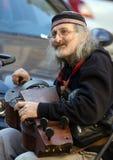 Músico da rua Fotos de Stock Royalty Free
