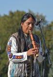 Músico de Ecuador Foto de archivo libre de regalías