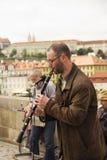 Músico de la calle Imagenes de archivo