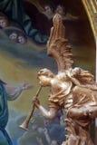 Músico del ángel Imagen de archivo