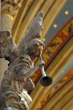 Músico del ángel Foto de archivo