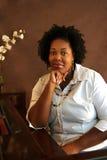 Músico del afroamericano Fotografía de archivo libre de regalías