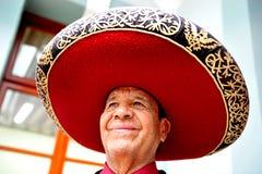 Músico del Mariachi Fotos de archivo