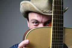 Músico do país Fotografia de Stock