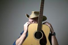 Músico do país Foto de Stock Royalty Free