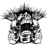 Músico do punk ilustração do vetor