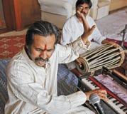 Músico e cantor de Manoj Desai Bumbay Foto de Stock