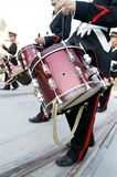 Músico e cilindro Fotografia de Stock Royalty Free