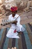 Músico indiano Imagens de Stock